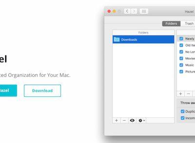 Hazel - Truly Mac Files Cleaner